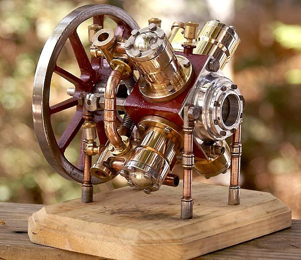 Radial steam engine rebuild page  | Engine | Steam engine