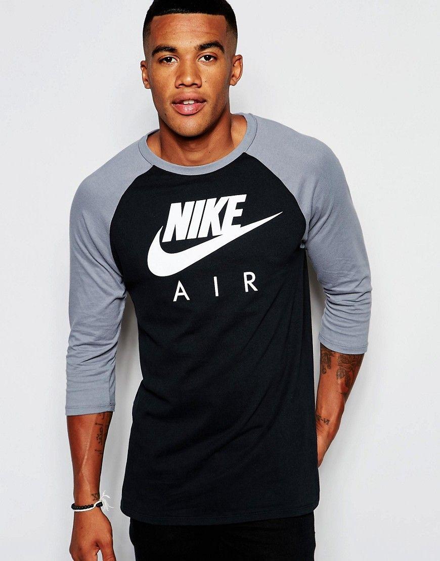 3/4 nike shirt