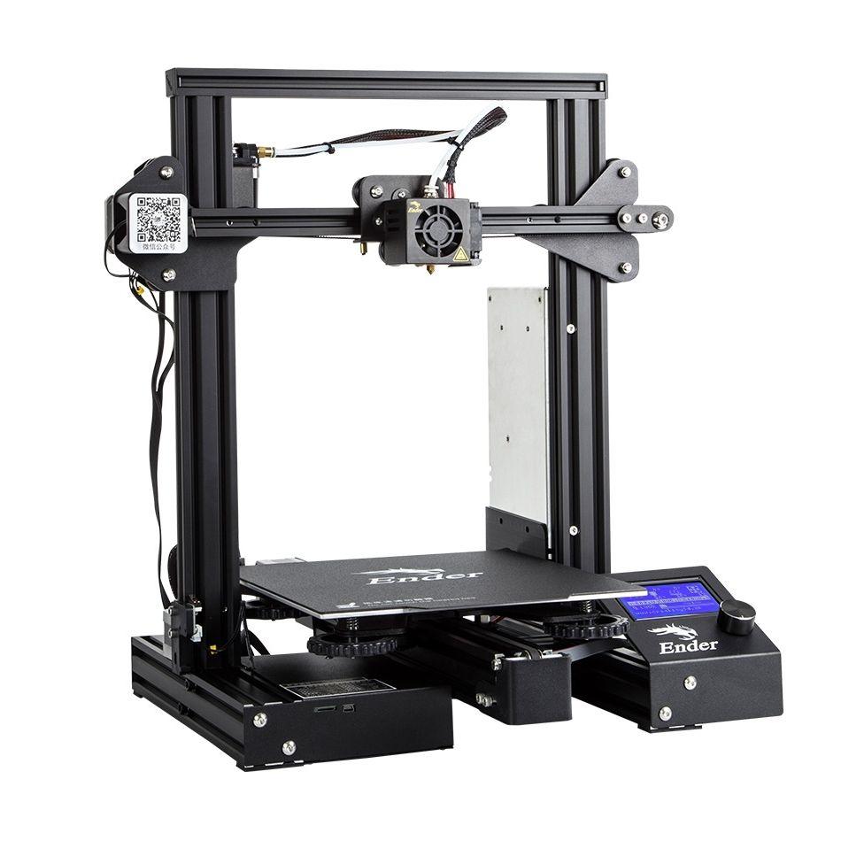 Creality 3D Ender-3 V-slot Prusa I3 DIY Printer Kit 220x220x250mm Printing Size