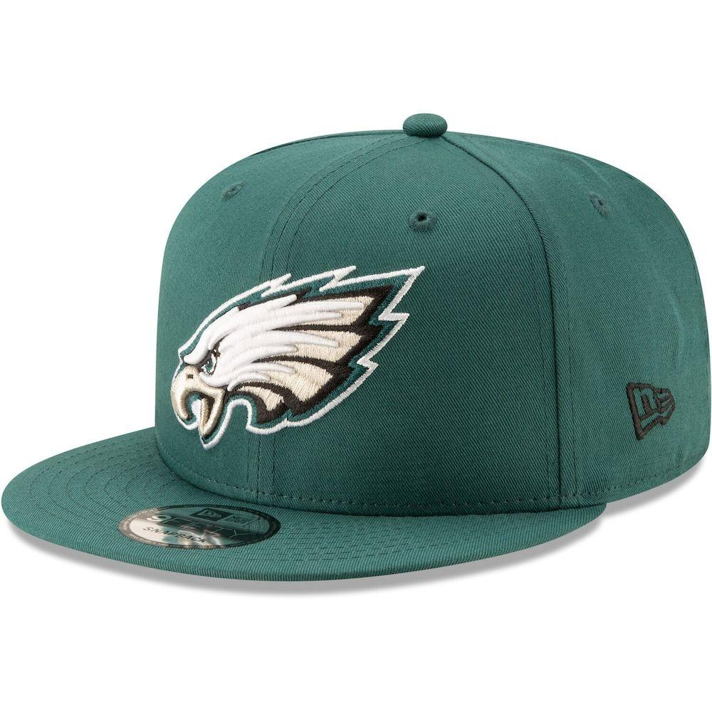 NFL Philadelphia Eagles Clean Up Adjustable Hat Black One Size