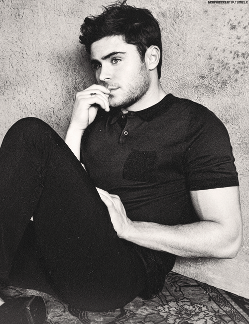 Zac Efron is like an adorable puppy and I want him for Christmas:p