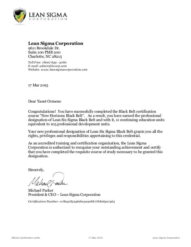Tips Write Certification Letter For Official Mar Certificate Completion  Construction  Certificate Of Recommendation Sample