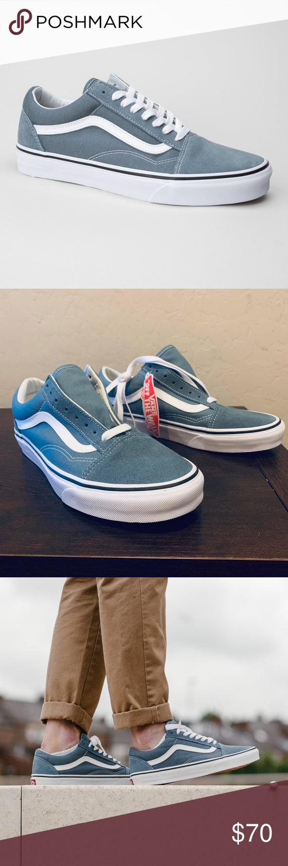 522839cbee Vans OLD SKOOL SKATE Shoes Goblin Blue Men s NEW AUTHENTIC Vans Old Skool  Skate Shoes SIZE