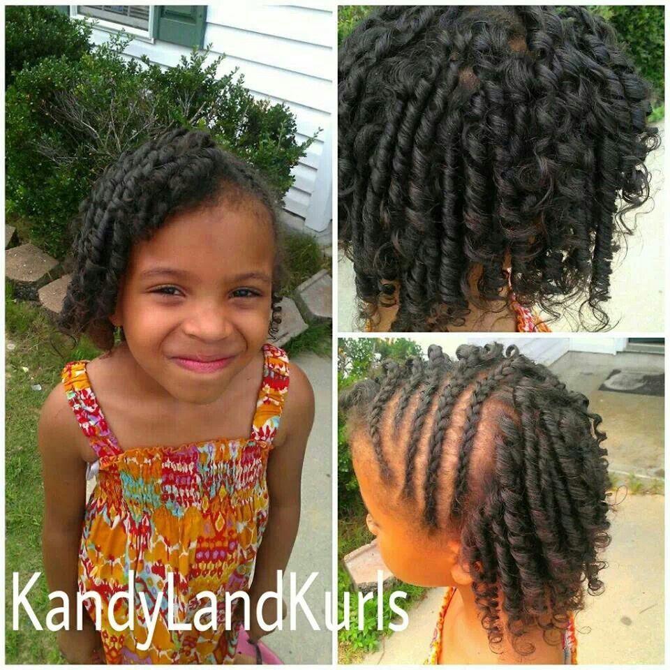 Straw Curls and braids | Natural hair kids | Pinterest | Hair ...