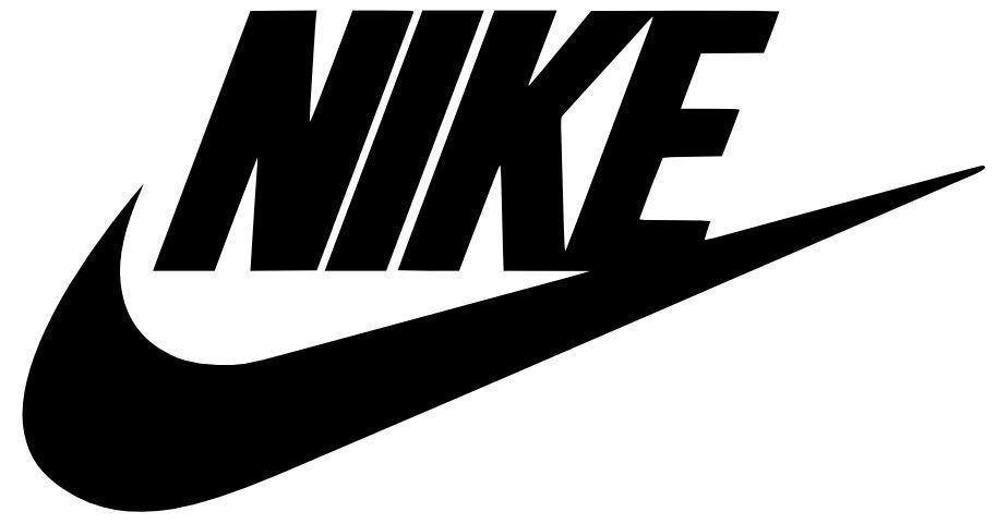 b84106845 2X Nike Swoosh Vinyl Decal Sticker Michael Jordan Air Nike Swoosh Logo Decal