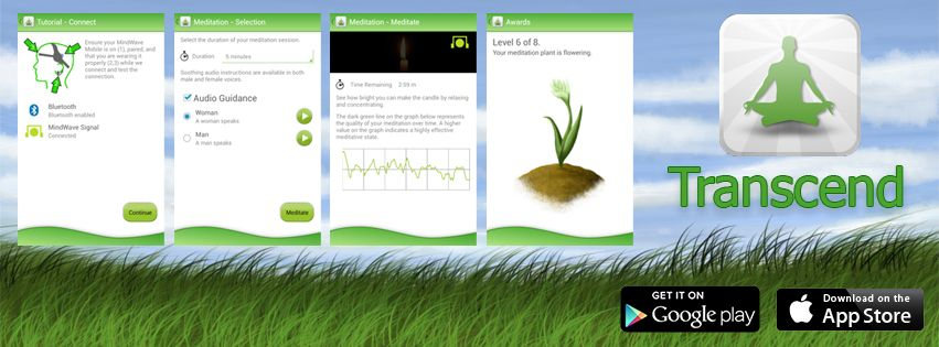The first ever meditation app that gives you NEUROFEEDBACK on your