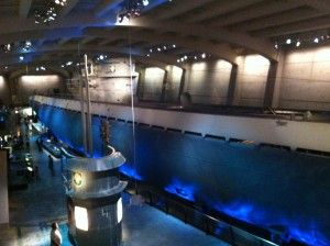 German U-boat submarine at the Chicago Museum of Science and Industry