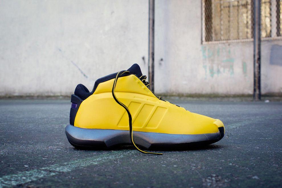 "new concept 42b03 25692 adidas Kobe Crazy 1 ""Sunshine"" (Detailed Photos)"