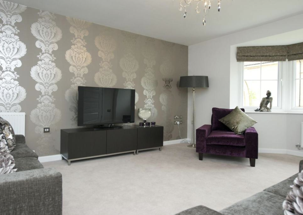 Barratt Homes   Churchill Park (Stoke On Trent)   Interior Designed Living  Room. Funky, Bright, I Think This Is A Brilliant First Home Selling Cou2026 Part 93