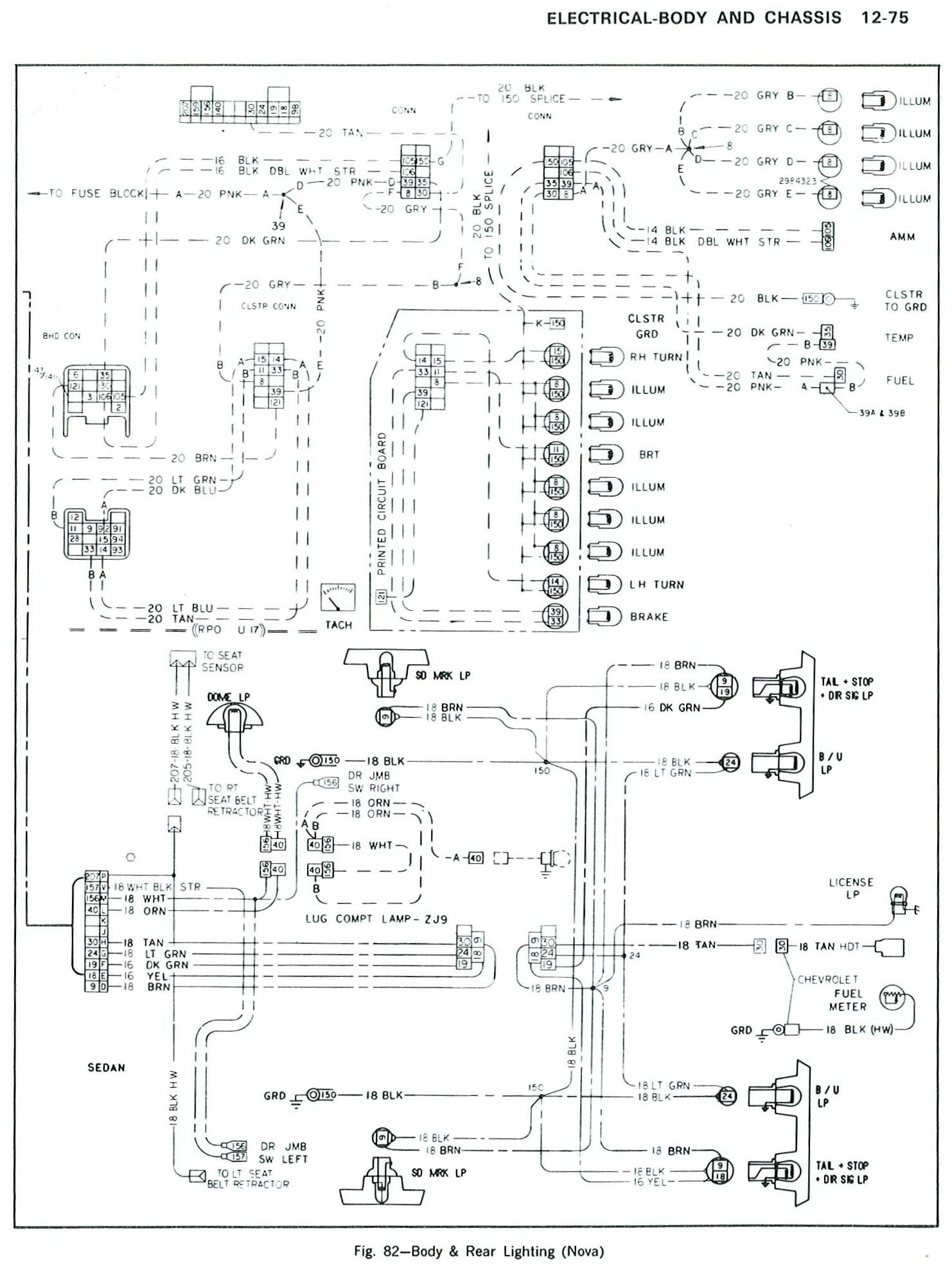 1979 Chevy Nova Wiring Diagram - wiring diagrams schematics