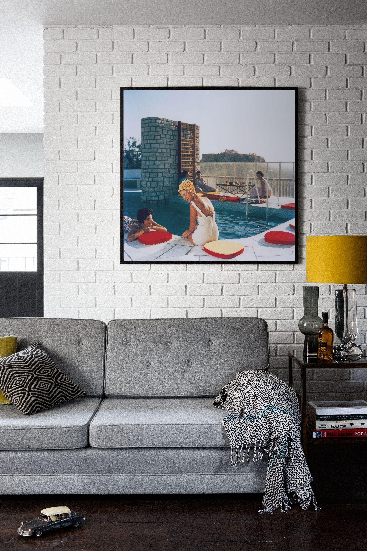Penthouse Pool\' Framed Print | Pinterest | Slim aarons, Penthouses ...