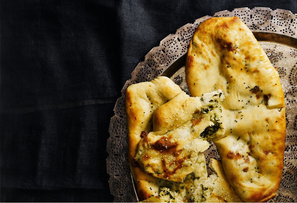 Cheese naan | Recipe | Food recipes, Naan, Stuffed peppers