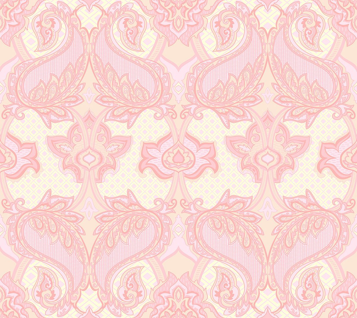 Baroque Paisley seamless patter and Gift certificate on Behance ...