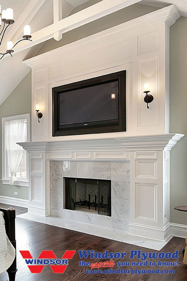 Fireplace Mantels & Crown Tops | Windsor Plywood | For the Home ...