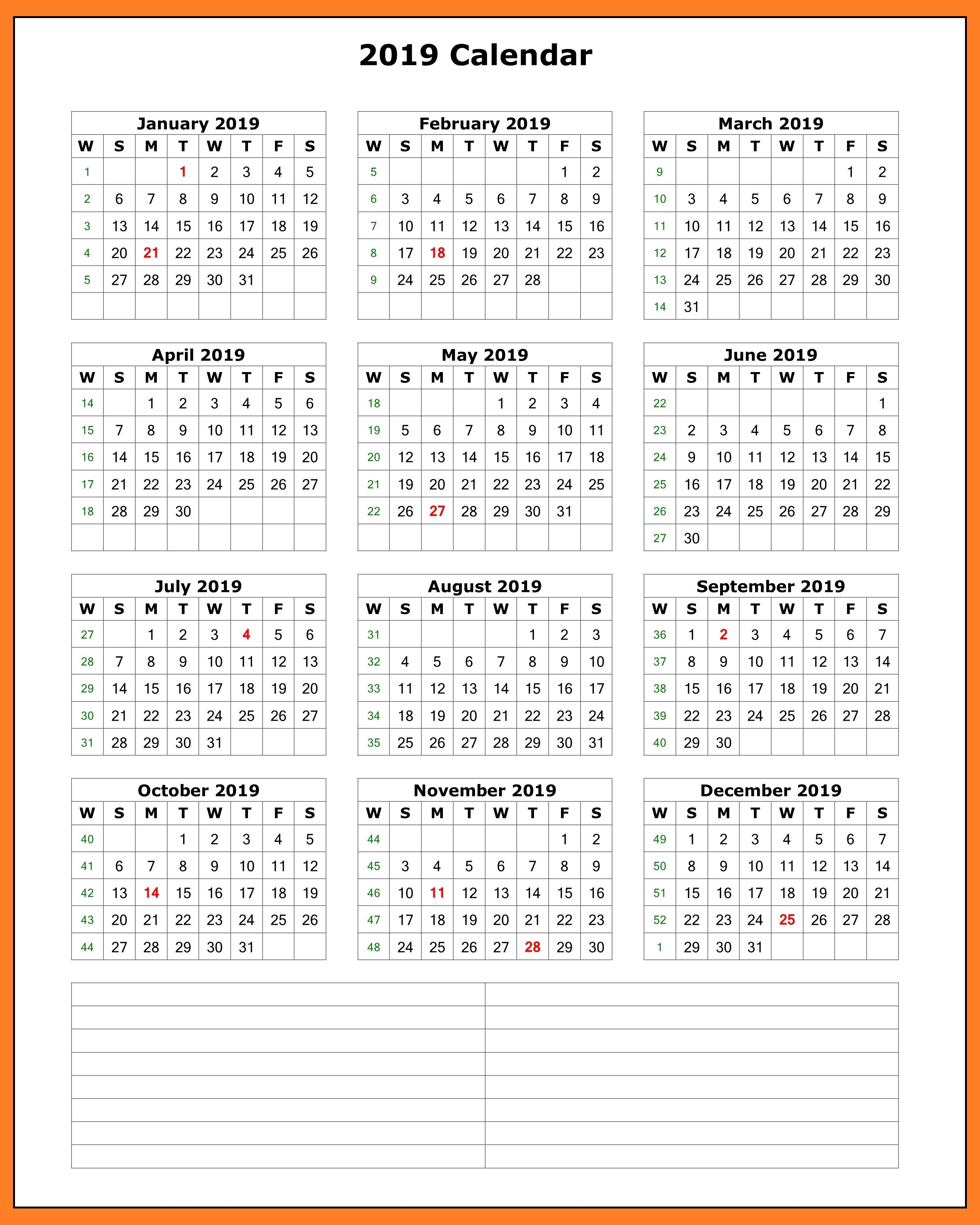 microsoft word monthly calendar