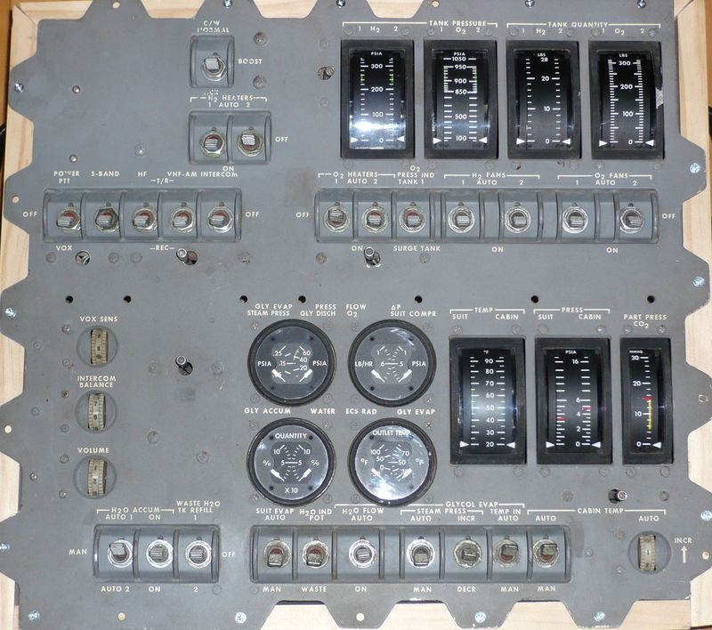 apollo capsule control panel - photo #41