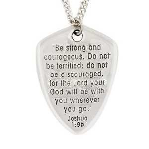 This sterling silver shield of faith pendant is a beautiful this sterling silver shield of faith pendant is a beautiful reminder of gods presence aloadofball Images