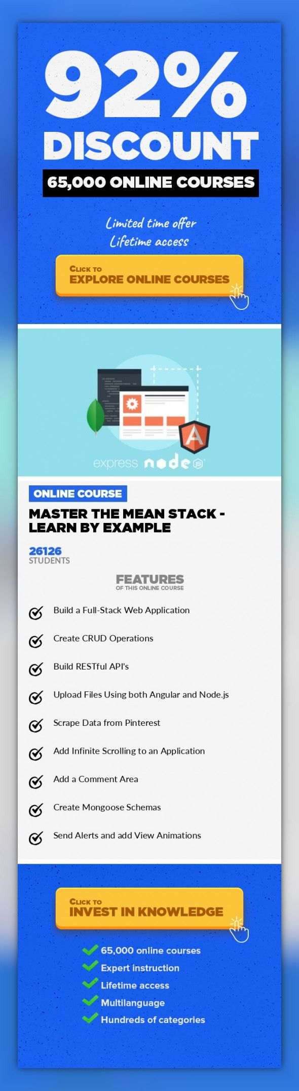 master the mean stack learn by example web development