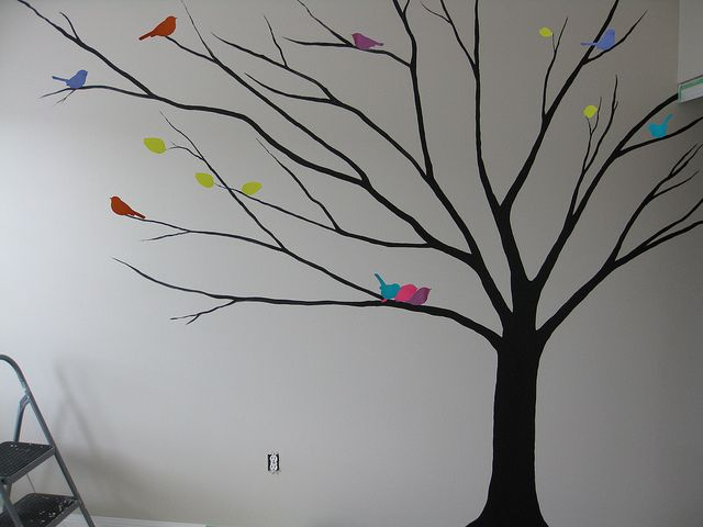 Babys room wip tree wall stencils wall stenciling and walls tree wall stencils for painting recent photos the commons getty collection galleries world map app gumiabroncs Images