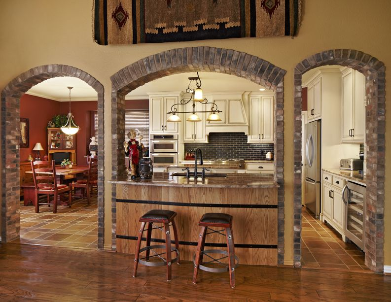 Tuscan Kitchen With Bar | Carrollton Kitchen Design Remodel, Tuscan Style  Sanctuary | USI Part 48