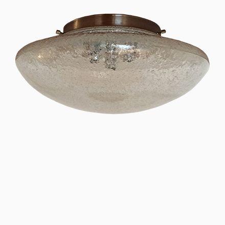 Große Glas Wandlampe von Hillebrand Lighting, 1970er Jetzt bestellen - deckenleuchten für badezimmer