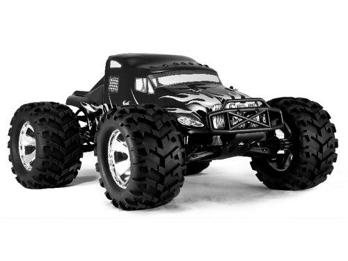 Redcat Racing Earthquake 3.5cc 2-Speed Nitro Semi Truck Black 1/8 Scale