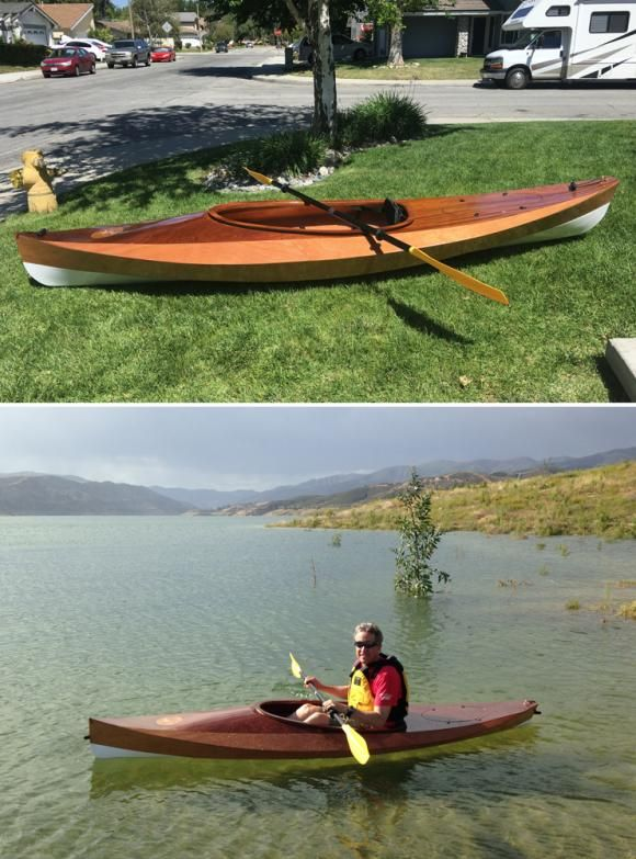 Wood Duck 10 Recreational Kayak A Beautiful Ultra Light Kayak You Can Build From A Kit Or Plans Recreational Kayak Wood Ducks Kayaking