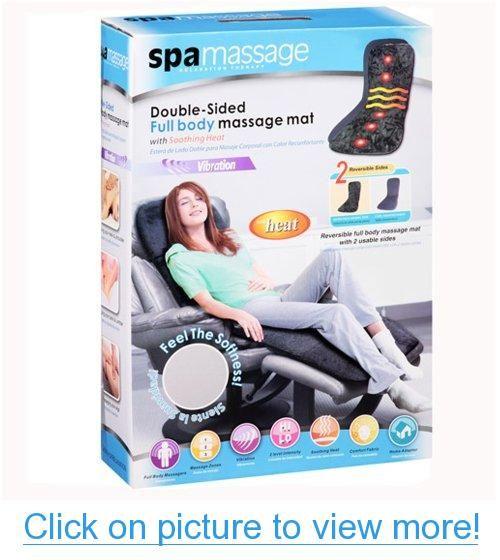 Spa Massage Double Sided Full Body Massage Mat With Soothing Heat Full Body Massage Spa Massage Body Massage