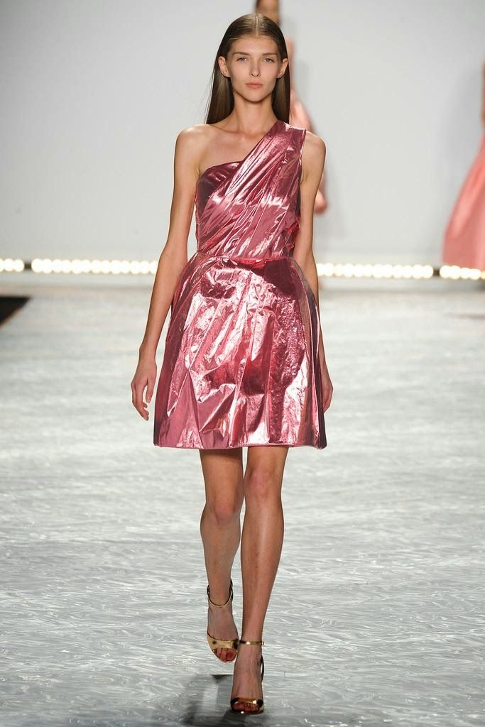 New York Fashion Week Spring Summer 2015 Parte 1/3 Monique Lhuillier Ready To Wear Style.com