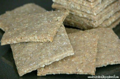 Sunflower Seed Herb Crackers – fastPaleo