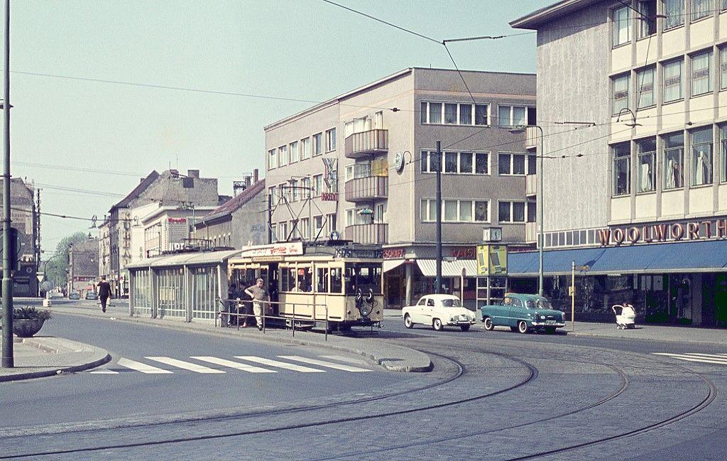 berlin sommer 1962 am markt in spandau tw 3407 auf der linie 75 durch spandau seit den 80er. Black Bedroom Furniture Sets. Home Design Ideas