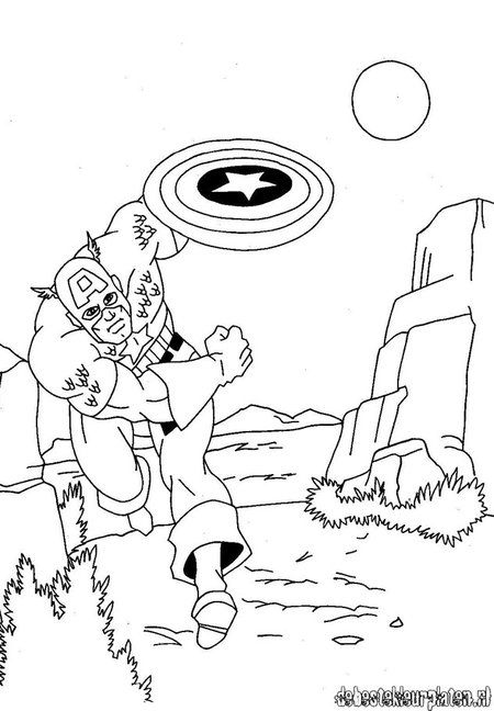 captain america shield coloring page 32  http