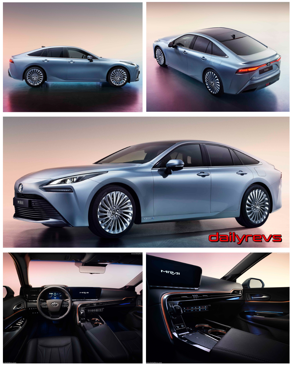 2020 Toyota Mirai HD Pictures, Videos, Specs