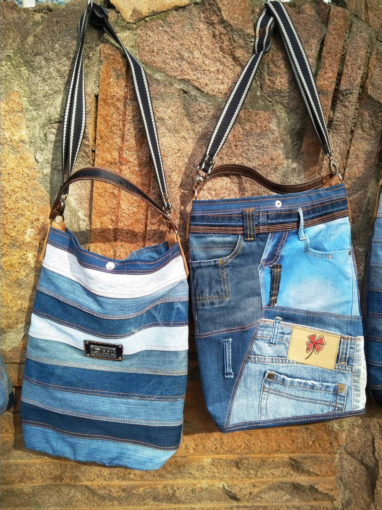 Мк выкройка сумки из джинсов фото 999