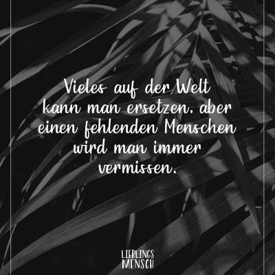 Vermissen spruch Trauersprüche (148+)
