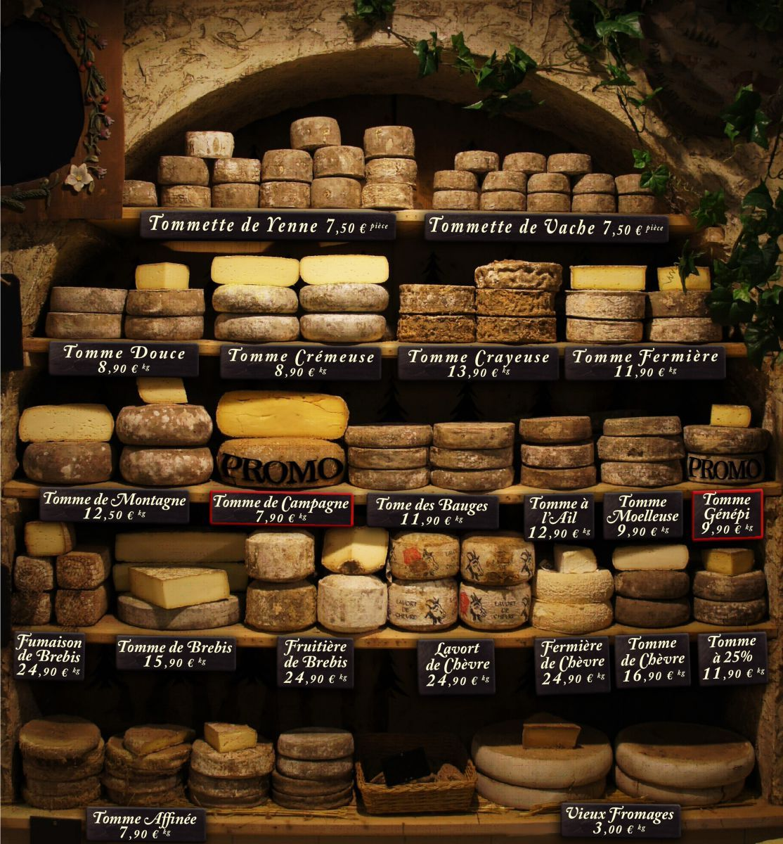 Les Tommes De Savoie La Maison Du Fromage Homemade Cheese Cheese Shop Cheese Cave