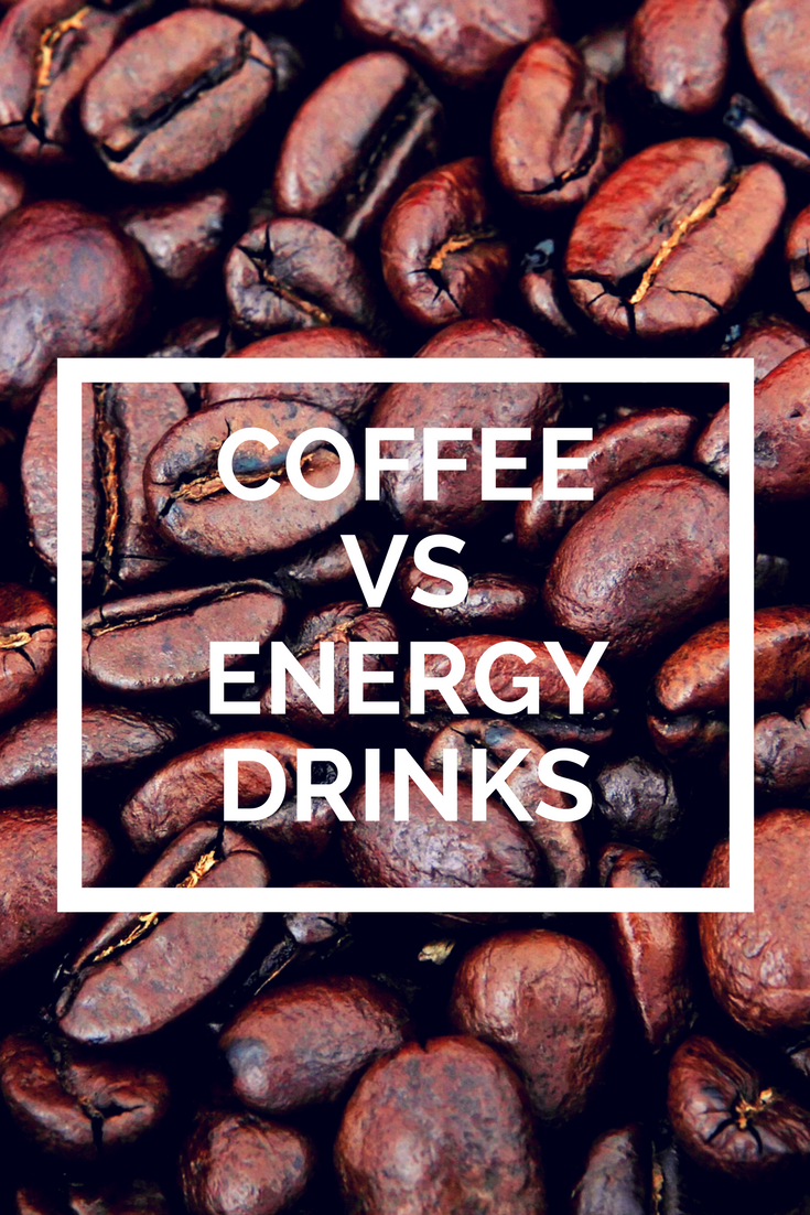 Coffee vs. Energy Drinks Which has the most caffeine