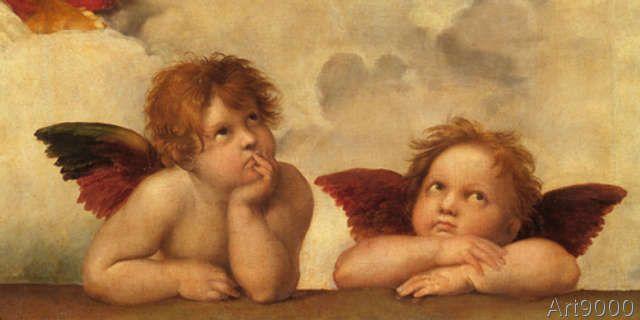 Raffael - Zwei Engel
