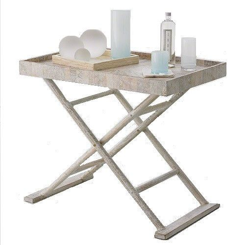 Driftwood Butleru0027s Tray Table