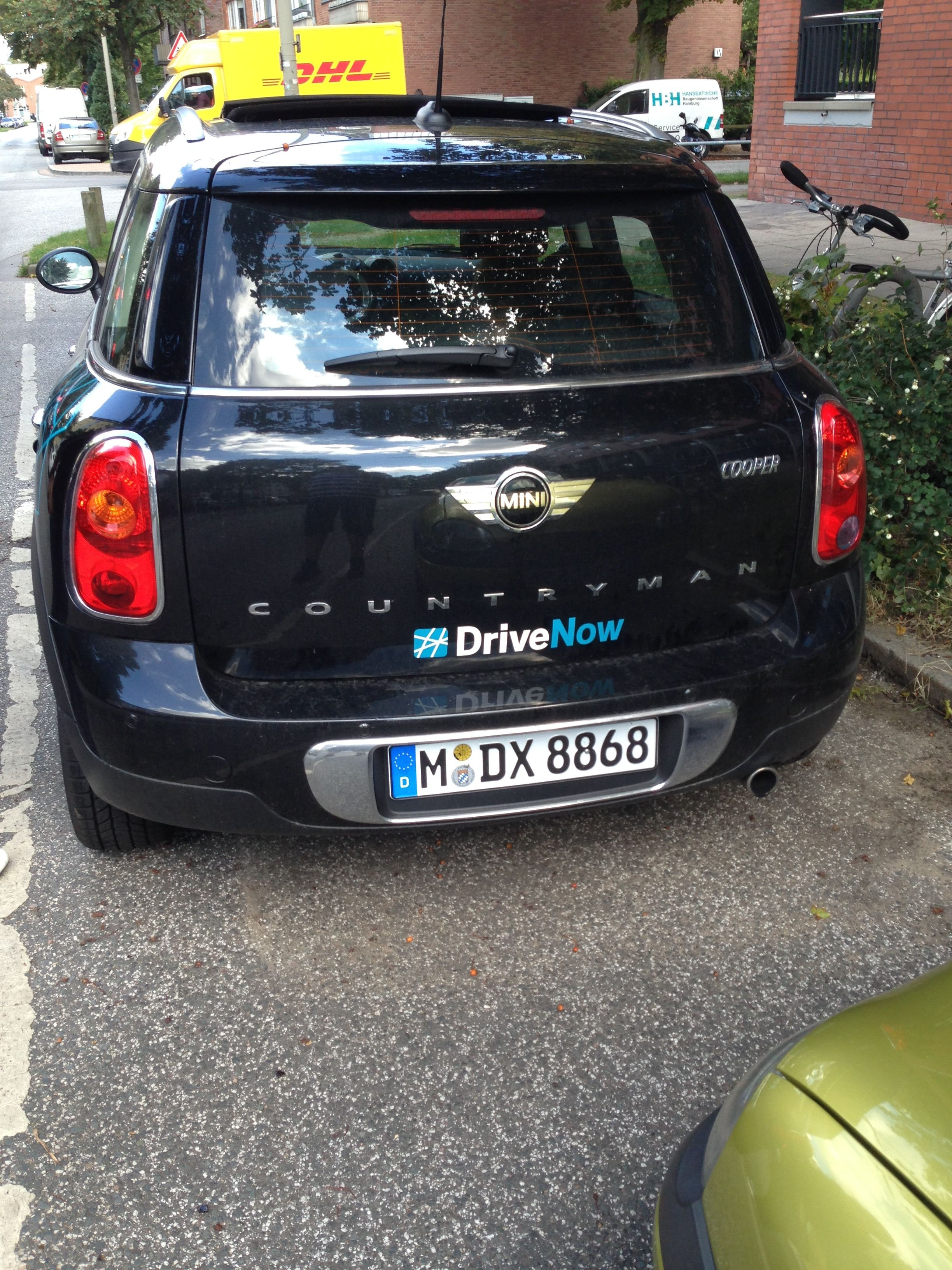 Carsharing Hamburg 02.09.2014 #drivenow