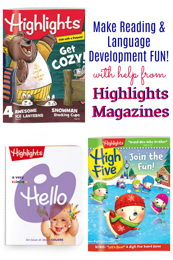 Reading And Language Development Fun With Highlights Magazines Let