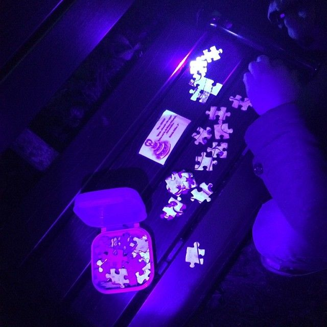 If You Can Solve The Uv Light Puzzle You Ll Find The Geocache