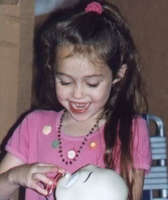 miley cyrus baby pictures | baby miley - Miley Cyrus Photo ...