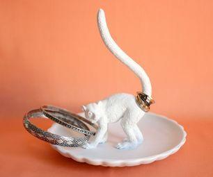 diy animal jewelry holder