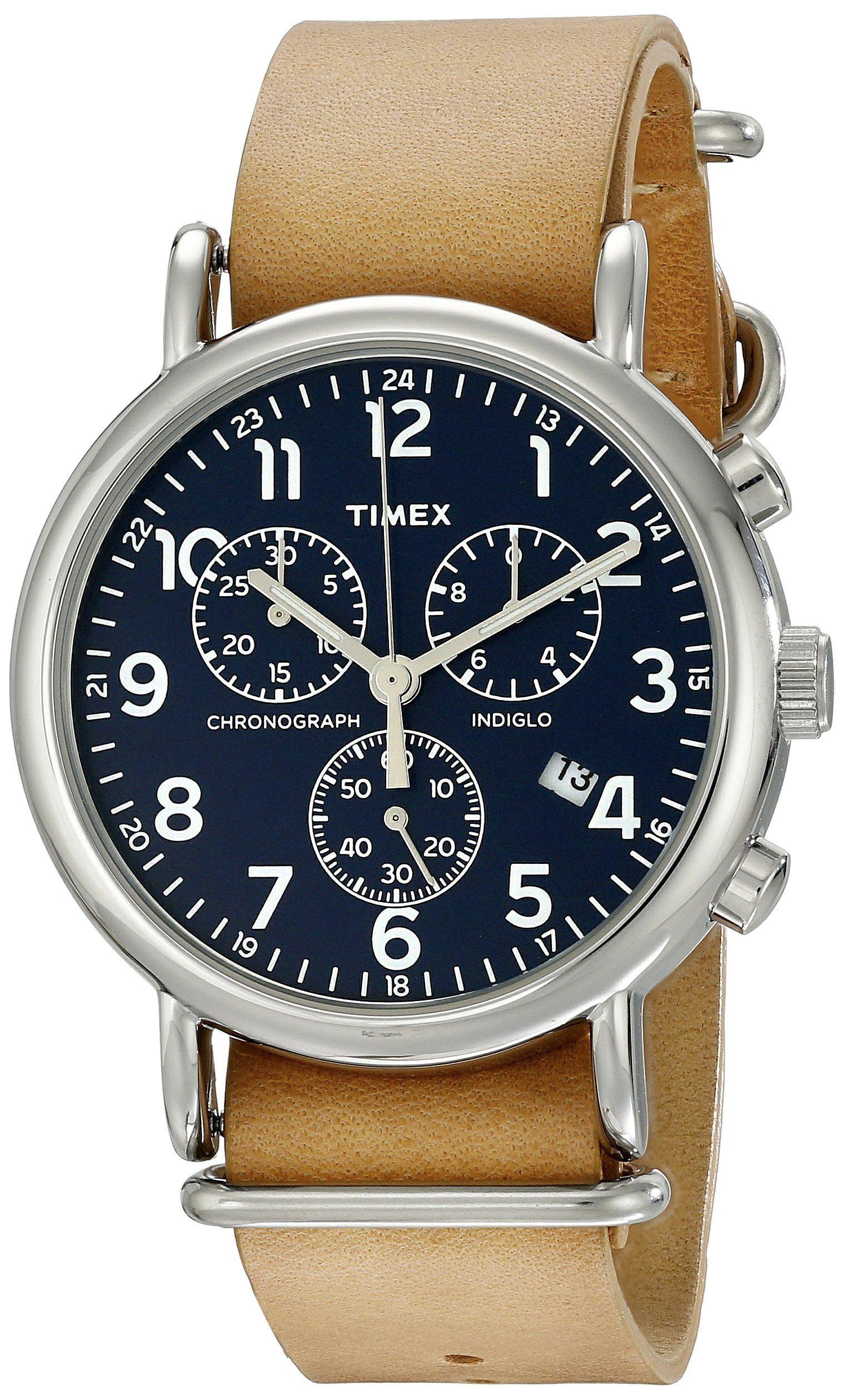 Robot Check Timex Uhren Stoppuhr Armbanduhr