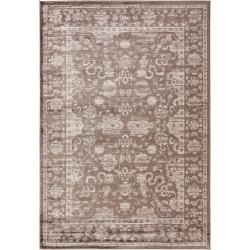Photo of benuta Classic Carpet Velvet Brown 80×150 cm – Vintage carpet in used look