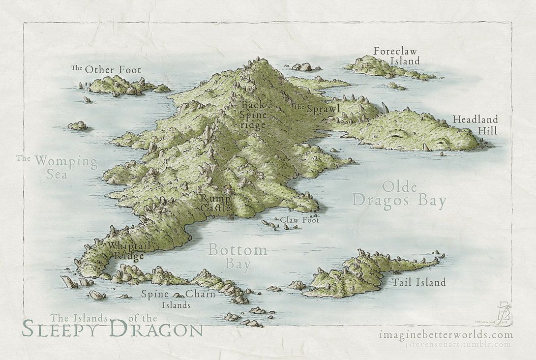 Islands of the Sleepy Dragon Islands of