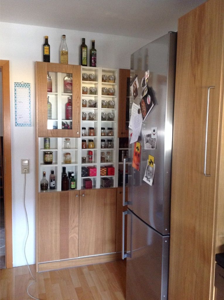 Narrow kitchen storage for new place Pinterest Ikea hackers