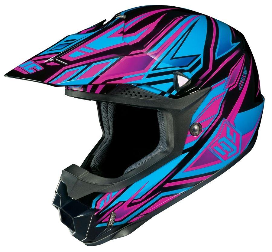 Hjc Purple Google Search Dirt Bike Helmets Motocross Helmets Dirt Bike Gear