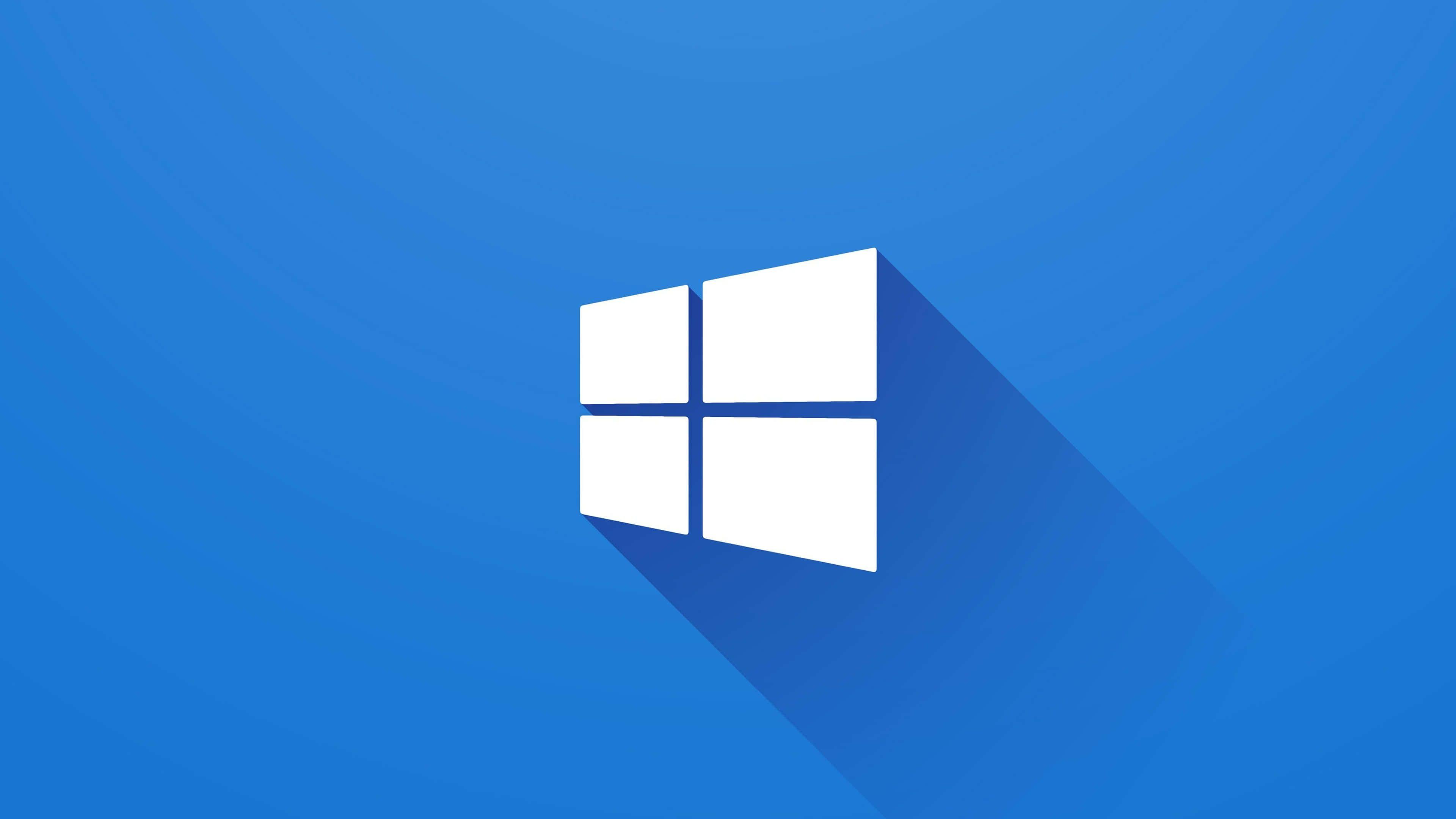 Windows 10 Minimalist Logo Uhd 4k Wallpaper Windows 10 Logo Windows 10 Microsoft